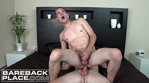 JJ Michaels Takes Seth's Raw Cock for a Ride