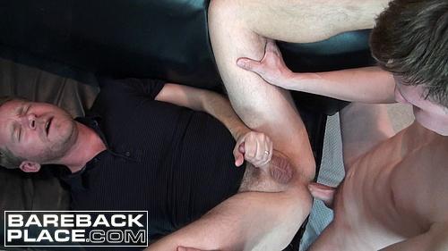 Colton Harris Fucks Aaron French Bareback